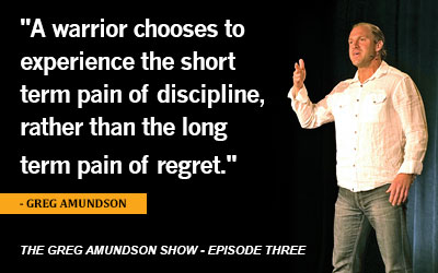 The Greg Amundson Show, Episode 3: The Law of Repetition and Order